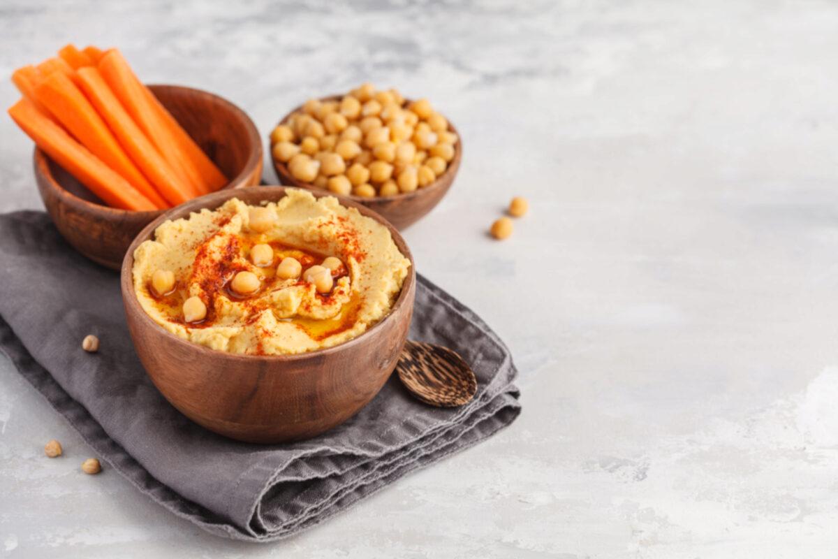 Hummus healthy snack